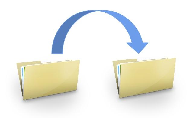 File transfer pictogram